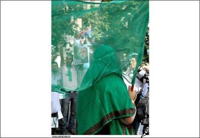 جنبش سبز قرار بود اول با ريشه باشند